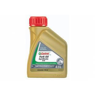 Amortisaatoriõli CASTROL 5W FORK OIL SYNTHETIC 0,5L