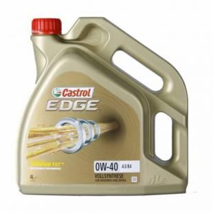 Mootoriõli CASTROL 0W40 EDGE TITANIUM FST 4L