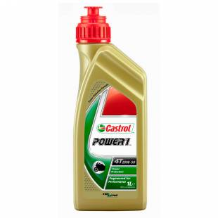 Mootoriõli CASTROL 20W50 POWER 1 4T 1L