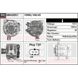 Generaator DELCO REMY DRA0057