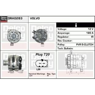 Generaator DELCO REMY DRA0283