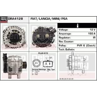 Generaator DELCO REMY DRA4128