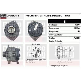 Generaator DELCO REMY DRA0041