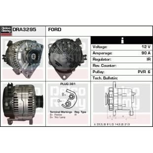 Generaator DELCO REMY DRA3295