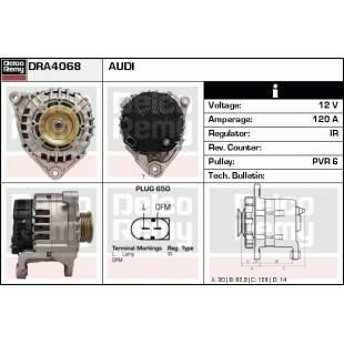 Generaator DELCO REMY DRA4068