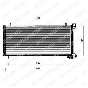 Kondenser DELPHI TSP0225090