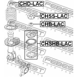 Amortisaatori paigaldus komplekt FEBEST CHSS-LAC