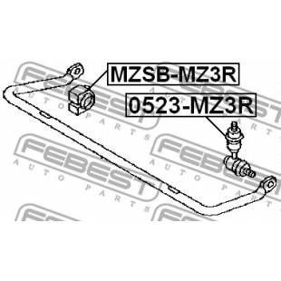 Stabilisaatori varda kumm FEBEST MZSB-MZ3R
