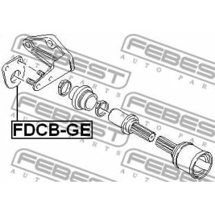 Laager,veovõll FEBEST FDCB-GE
