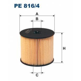 Kütusefilter FILTRON PE816/4