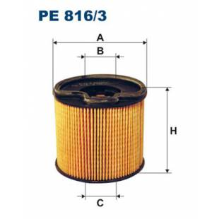 Kütusefilter FILTRON PE816/3