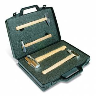 Box with 4 Alu hammer dent-pulling GYS 050259
