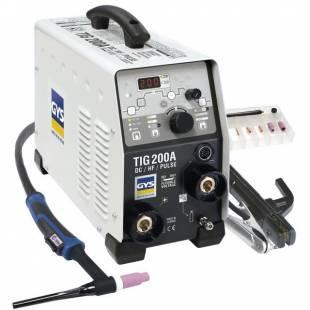 HF TIG welder GYSMI TIG 200 DC FV GYS 011540