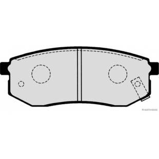 Piduriklotsid HERTH+BUSS JAKOPARTS J3610512