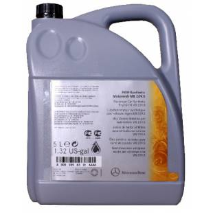 Mootoriõli MERCEDES-BENZ 5W30 MB MOTOR OIL 229.5 5L