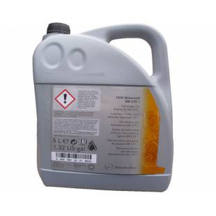 Mootoriõli MERCEDES-BENZ 10W40 MB MOTOR OIL 229.1 5L
