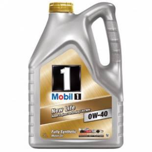 Mootoriõli MOBIL 0W40 MOBIL 1 NEW LIFE 5L