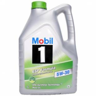 Mootoriõli MOBIL 5W30 MOBIL 1 ESP FORMULA 5L