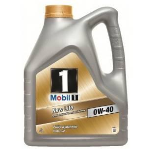Mootoriõli MOBIL 0W40 MOBIL 1 NEW LIFE 4L