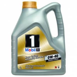 Mootoriõli MOBIL 0W40 MOBIL 1 FS 4L