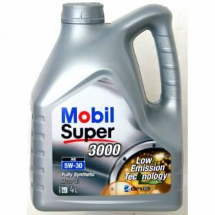 Mootoriõli MOBIL 5W30 SUPER 3000 XE 4L