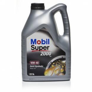 Mootoriõli MOBIL 10W40 SUPER 2000 5L