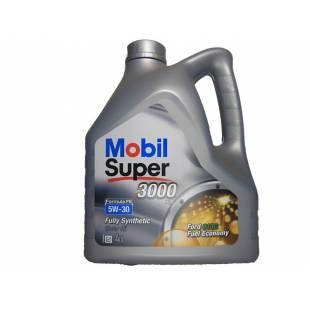 Mootoriõli MOBIL 5W30 SUPER 3000 FORMULA FE 4L
