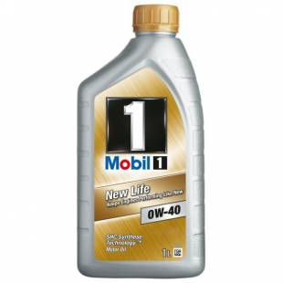 Mootoriõli MOBIL 0W40 MOBIL 1 NEW LIFE 1L