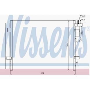 Kondenser NISSENS 940007
