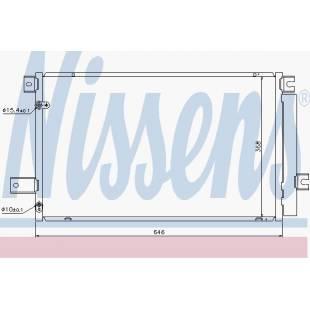 Kondenser NISSENS 940022