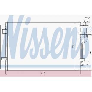 Kondenser NISSENS 940006