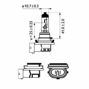 Hõõglamp, kaugtuled PHILIPS 12362PRC1