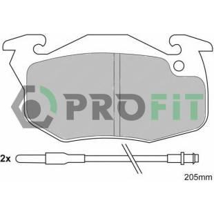 Piduriklotsid PROFIT 5000-0393