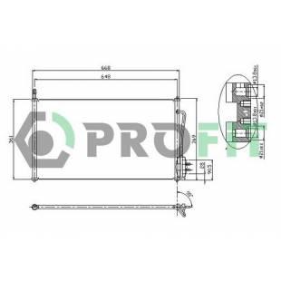 Kondenser PROFIT PR 2530C1