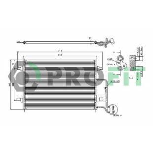 Kondenser PROFIT PR 9540C1