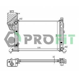 Radiaator PROFIT PR 3546A3