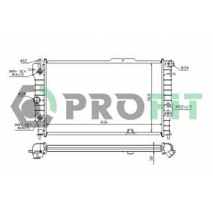 Radiaator PROFIT PR 5076A3