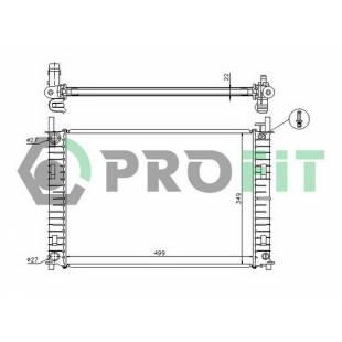 Radiaator PROFIT PR 2562A2