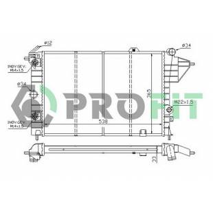 Radiaator PROFIT PR 5076A4