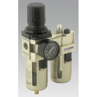 Air Filter/Regulator/Lubricator Max Airflow 105cfm SEALEY TOOLS SA206