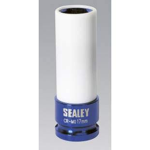 "Alloy Wheel Impact Socket 17mm 1/2""Sq Drive SEALEY TOOLS SX03017"