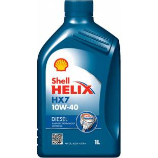 Mootoriõli SHELL 10W40 HELIX DIESEL HX7 1L
