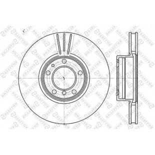Piduriketas STELLOX 6020-1544VK-SX