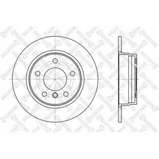 Piduriketas STELLOX 6020-1525K-SX