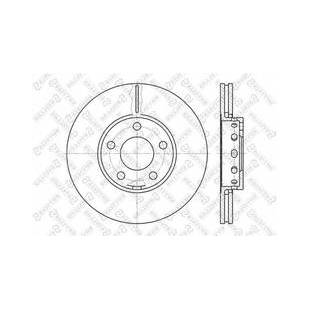 Piduriketas STELLOX 6020-1072V-SX