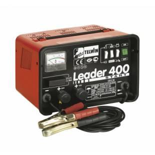 Akulaadija – starter traditsiooniline LEADER 400 START 12-24V TELWIN 807551
