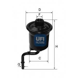 Kütusefilter UFI 31.914.00