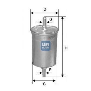 Kütusefilter UFI 31.769.00