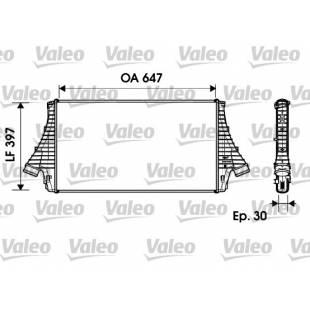Intercooler VALEO 817729