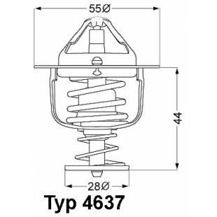 Termostaat WAHLER 4637.76D
